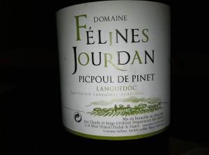 2008 Domaine Felines Jourdan Picpoul de Pinet